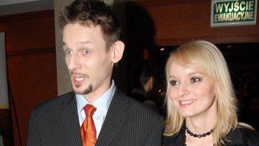 Michał Wójcik z żoną
