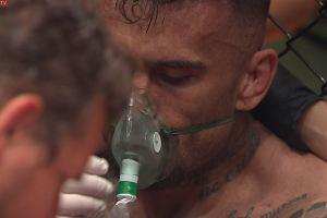 """Wielkie kontrowersje na Fame MMA. Zemdlał i wygrał wojnę. """"Śmiech na sali"""""""