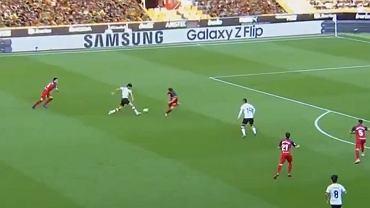 Goncalo Guedes strzela gola w meczu Valencia - Osasuna
