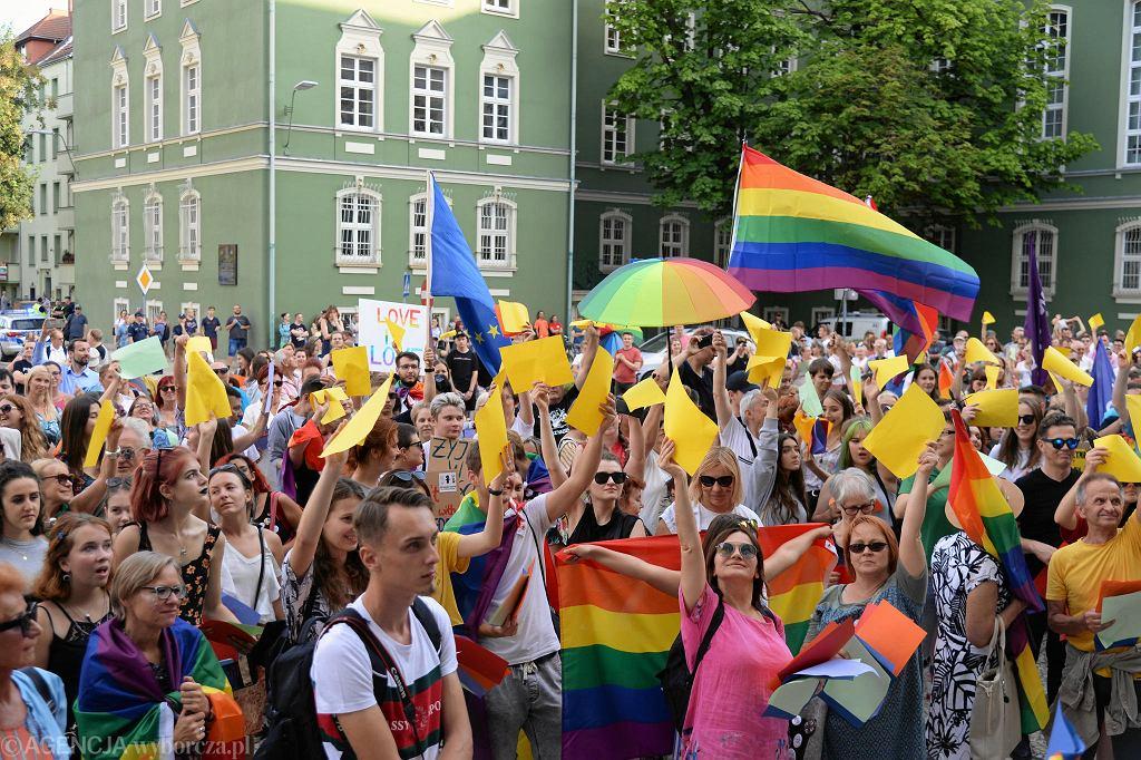 Manifestacja 'Szczecin - strefa wolna od nienawiści!' w Szczecinie