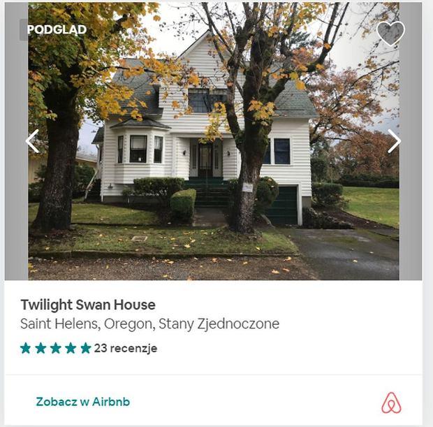 Można wynająć dom, w którym mieszkała Bella Swan