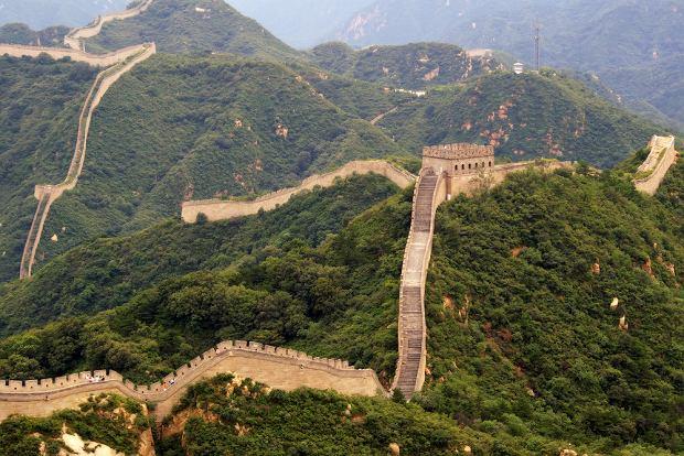 Chiny. Wielki Mur Chiński