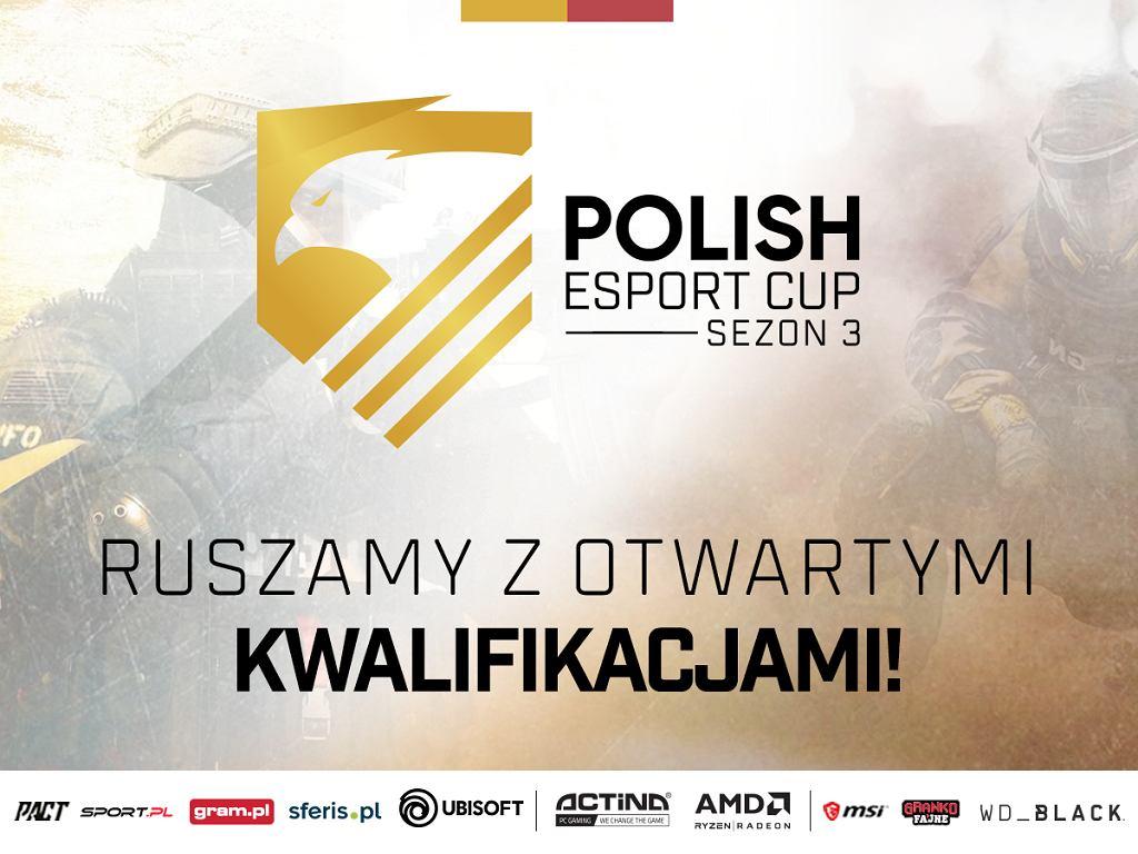 Ruszają otwarte kwalifikacje do Polish Esport Cup Sezon 3!