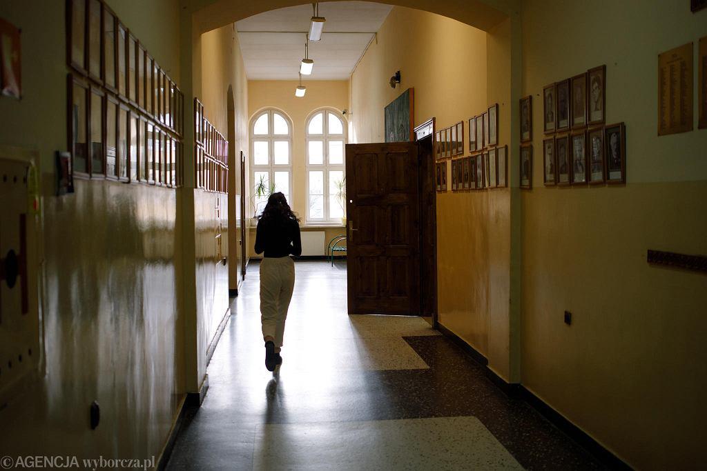 Strajk nauczycieli w liceum Marii Magdaleny