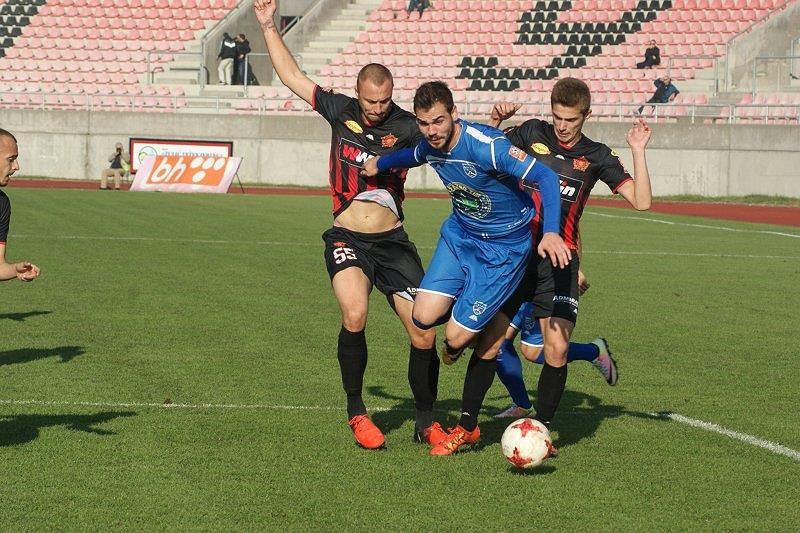 Elvir Koljić w meczu FK Krupa