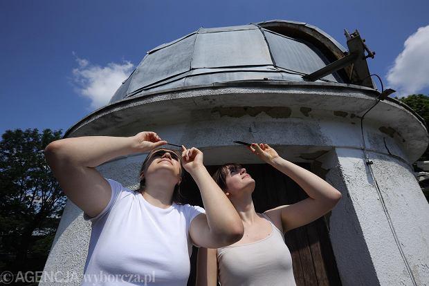 Zdjęcie numer 7 w galerii - Zaćmienie Słońca 2021 z zupełnie innej strony. Weszliśmy do środka Obserwatorium Astronomicznego