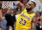 NBA. LeBron James zadebiutował w Los Angeles Lakers i przegrał