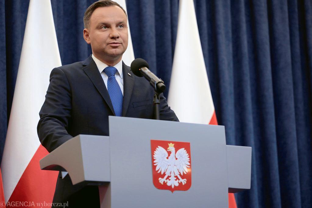 Prezydent Andrzej Duda o podpisaniu ustawy o IPN