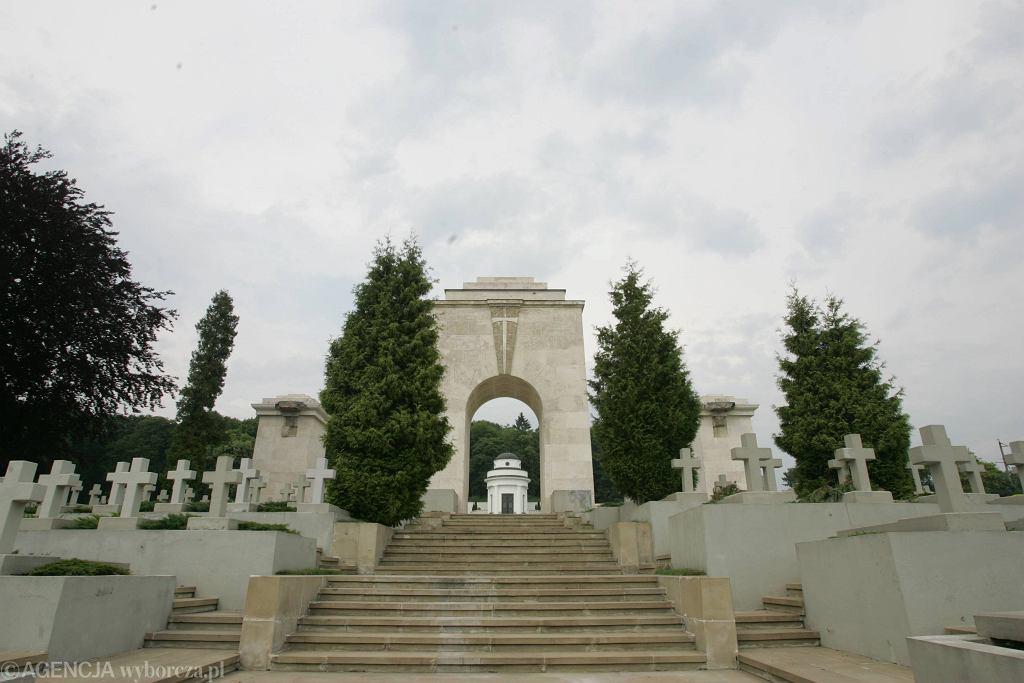 Cmentarz Orląt Lwowskich w 2005 roku.