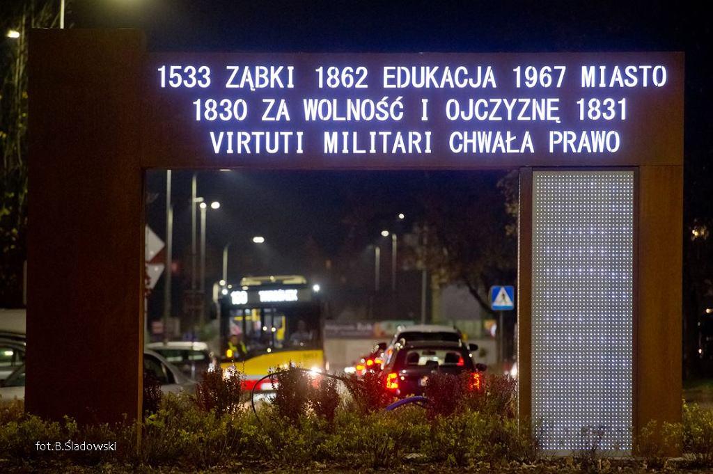 Brama Niepodległości w Ząbkach