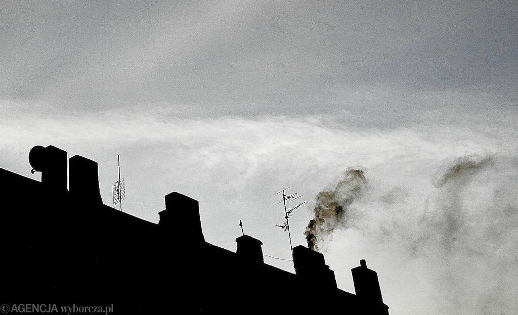 Dymiące kominy