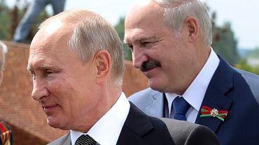 Władimir Putin i Aleksander Łukaszenka, 30 czerwca 2020 r.