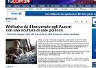 Wieliczka przywita Włochów rzeźbą z soli