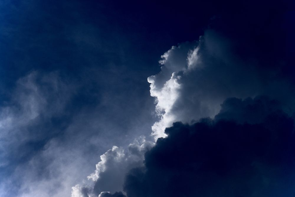 Twarz widziana w chmurach