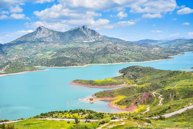 Jezioro Zahara w Andaluzji (fot. Shutterstock)