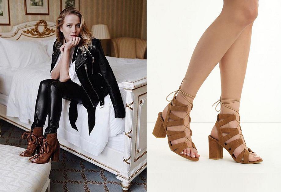Jessica Mercedes, sandały na słupku