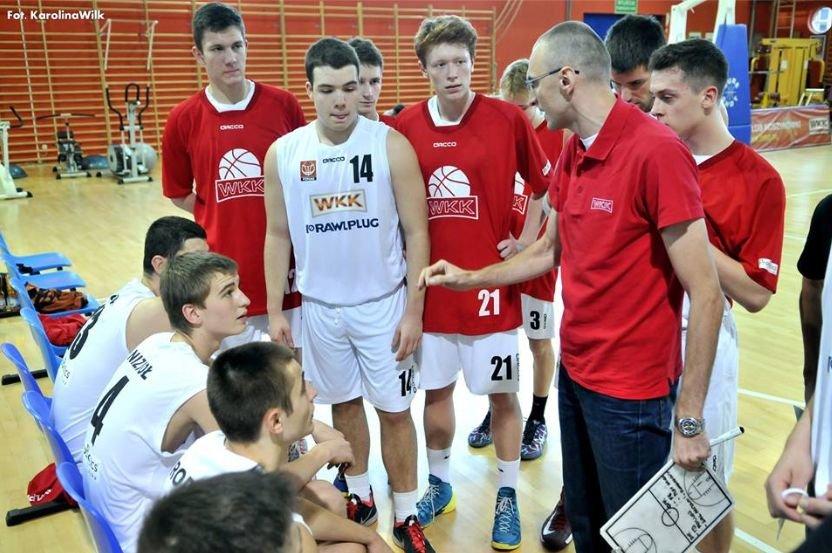 Trener Tomasz Niedbalski