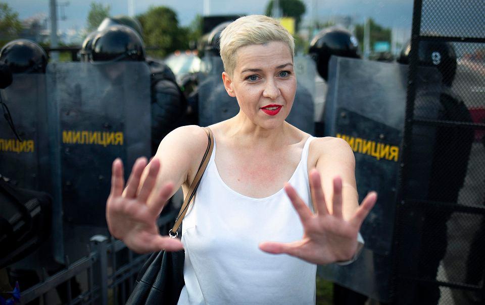 Marija Kalesnikawa została porwana z mińskiej ulicy w poniedziałek
