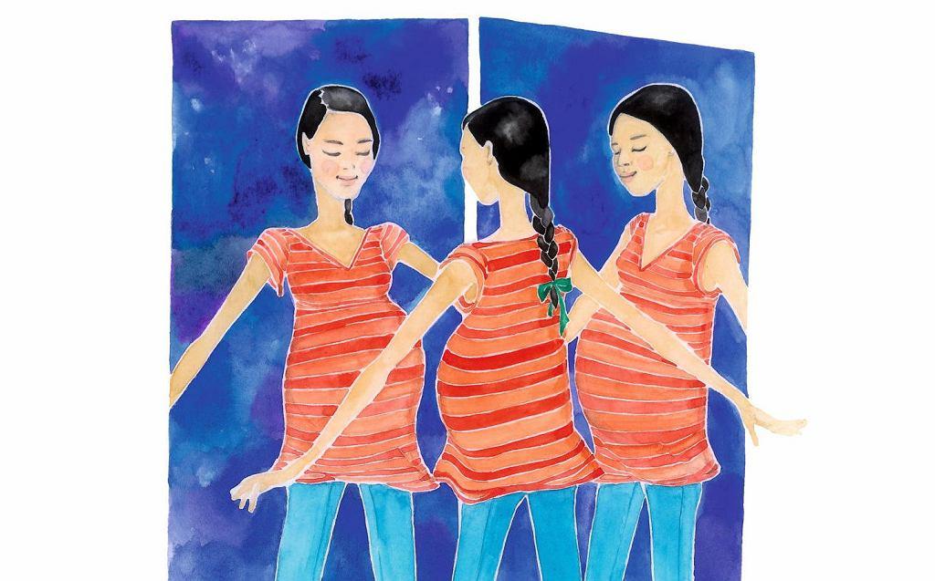 'Ciąża z klasą. Fachowy przewodnik po ciąży, porodzie i całej reszcie'