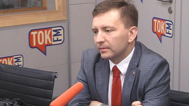 Poseł Łukasz Schreiber w TOK FM