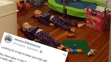 Mama znalazła genialny sposób na wyciszenie dzieci przed snem
