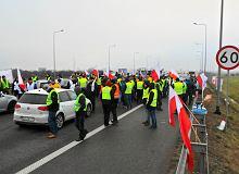Michał Kołodziejczak, lider protestu na A2: Żądamy rozmowy z premierem