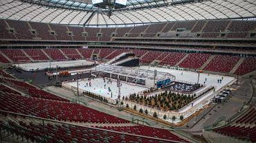 Druga edycja Zimowego Narodowego. Na płycie Stadionu Narodowego w Warszawie wyrosły trzy lodowiska, ice bar, a także absolutna nowość, górka lodowa do zjeżdżania na pontonach