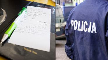Pobili kelnera i zniszczyli lokal bo uznali, że rachunek jest za wysoki.