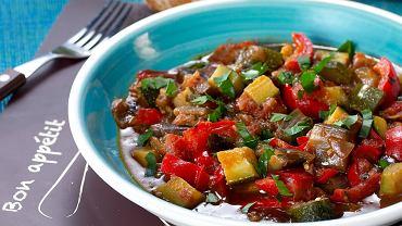 Ratatuja, czyli duszone warzywa