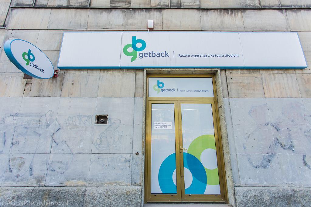 Placówka firmy Get Back przy al. Solidarności w Warszawie