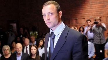 Oscar Pistorius podczas procesu