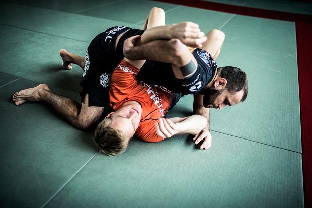 Trening brazylijskiego jiu-jitsu