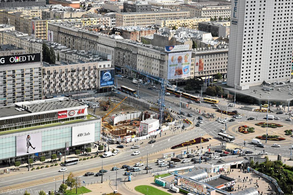 Stacja 'smogu' na ul. Marszałkowskiej została wyłączona