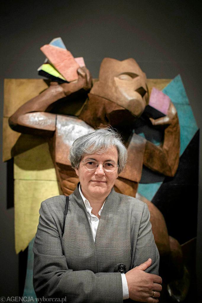 Dyrektor Muzeum Rodina w Paryżu - Catherine Chevillot przyjechała na otwarcie wystawy w Królikarni / Dyrektor Muzeum Rodina w Paryżu - Catherine Chevillot przyjechała na otwarcie wystawy w Królikarni/Fot.DAWID ZUCHOWICZ