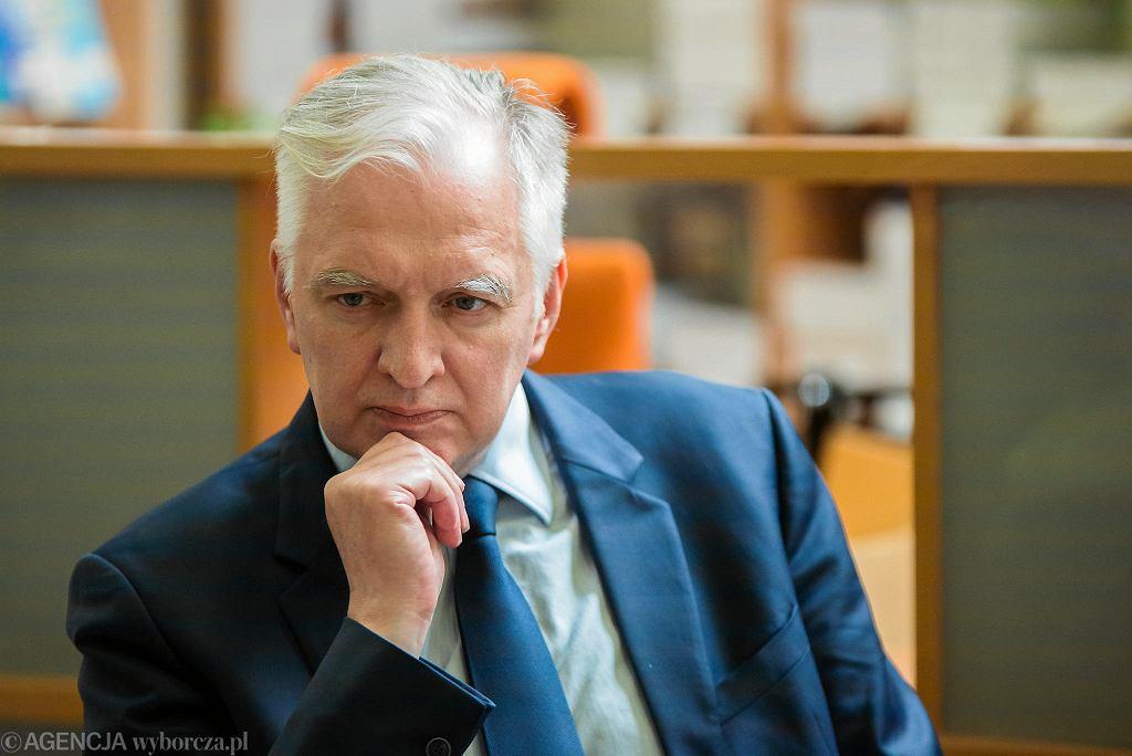 Jarosław Gowin - wicepremier, minister nauki i szkolnictwa wyższego