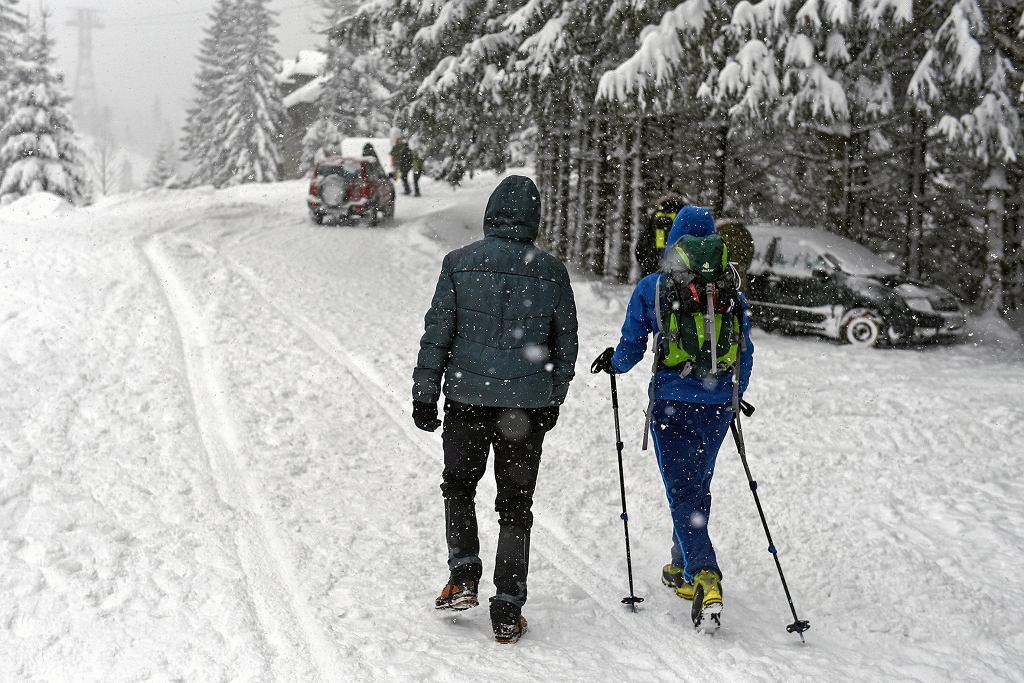 Gdzie spadnie śnieg? IMGW ostrzega przed intensywnymi opadami na południu kraju