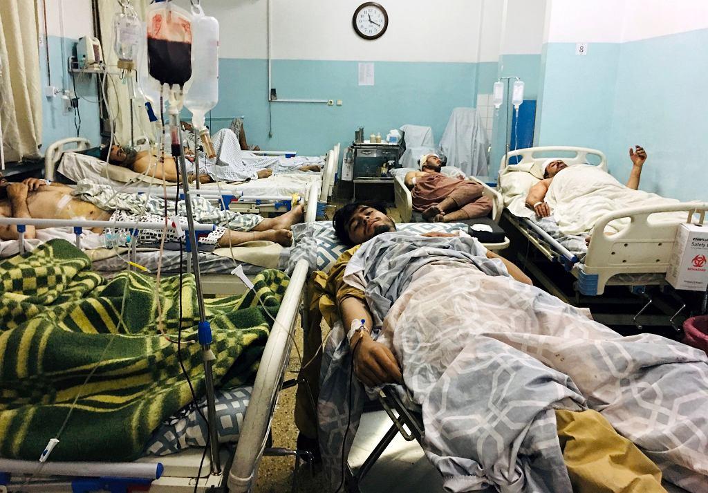 26.08.2021, Kabul, ofiary zamachu w jednym ze szpitali