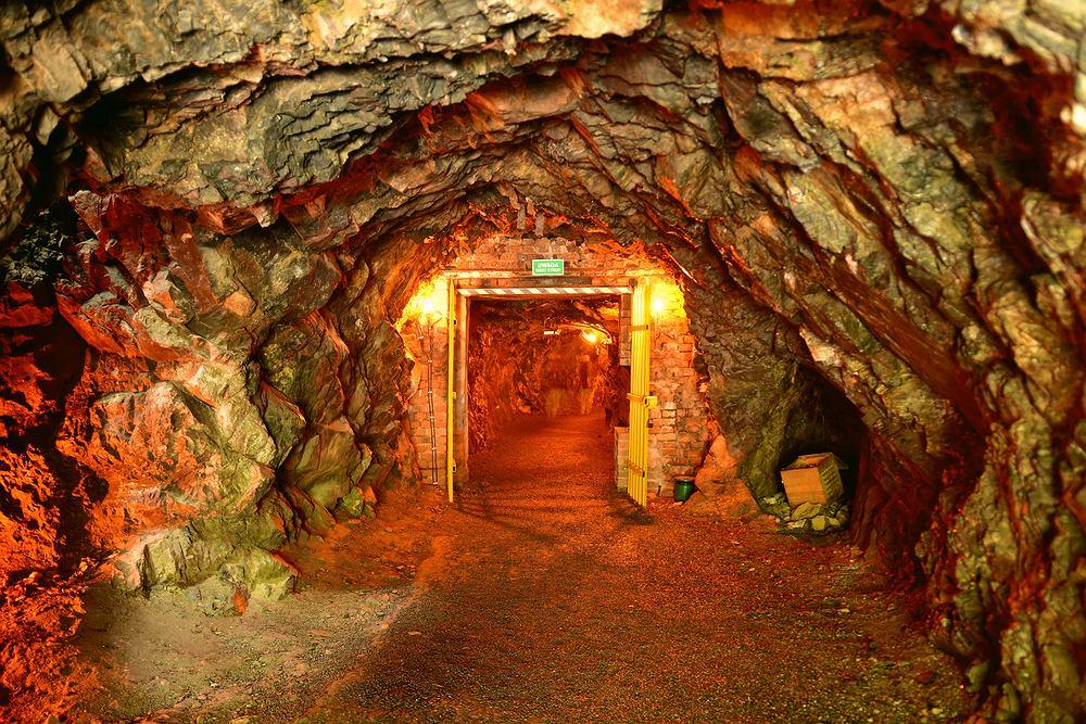 Kopalnia złota w Złotym Stoku. Zdjęcie ilustracyjne