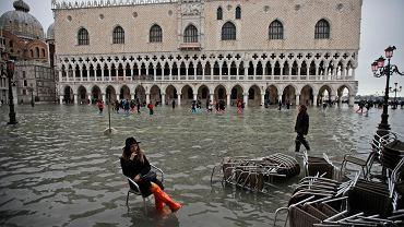 Powódź w Wenecji, 13.11.2019