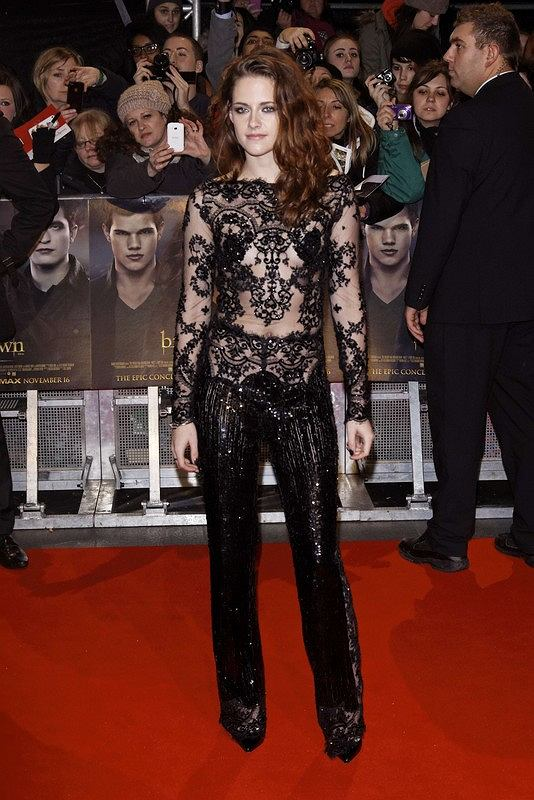 Red carpet arrivals at 'The Twilight Saga: Breaking Dawn 2 - Part 2' European premiere at the Empire Leicester Square.  Pictured: Kristen Stewart