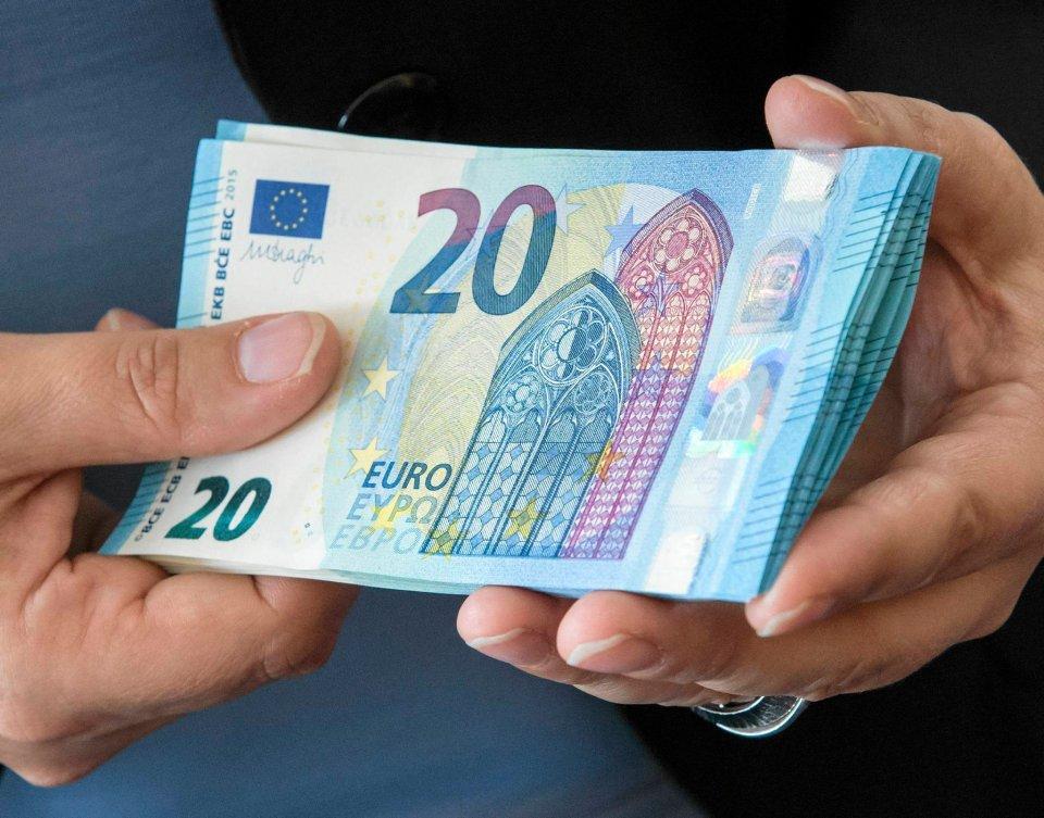 banknoty Euro