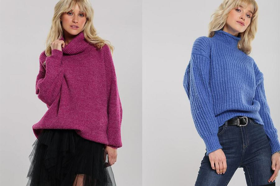 Swetry z golfem