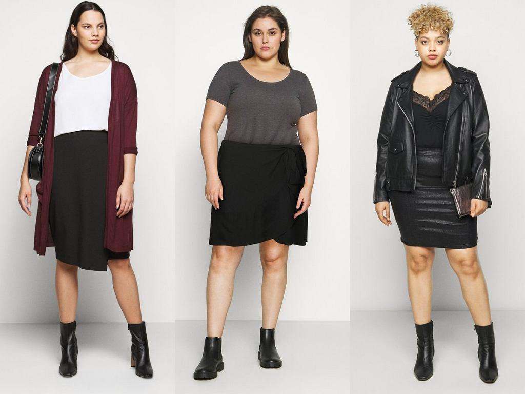Spódnice plus size na jesień