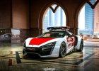Lykan HyperSport za 3,4 mln dol. jako radiowóz? Policja w Abu Zabi ma nowy sprzęt