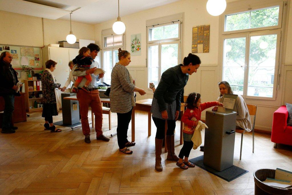 Głosowanie w Szwajcarii