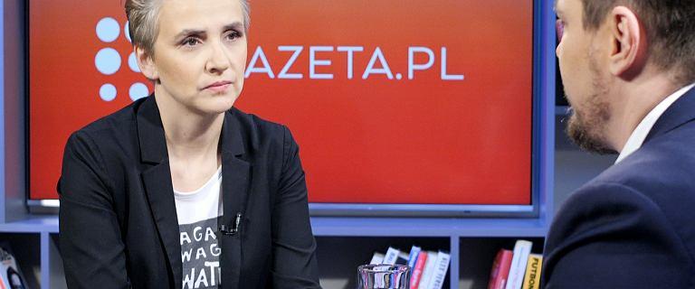 Scheuring-Wielgus: Za tragedię w Gdańsku odpowiadają politycy PiS