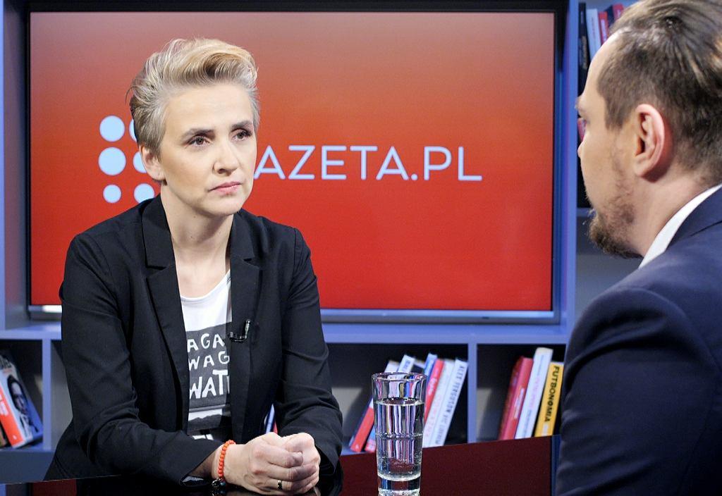 Poranna rozmowa Gazeta.pl. Gościem - Joanna Scheuring-Wielgus z partii TERAZ!