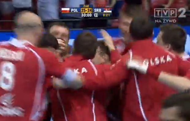 Polska wygrywa z Serbią!
