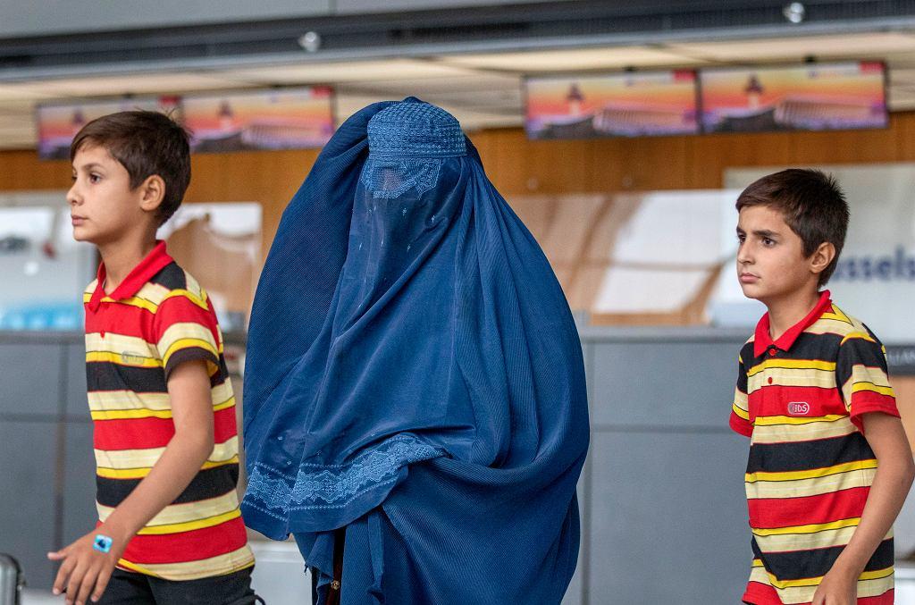 Rodzina ewakuowana z Kabulu
