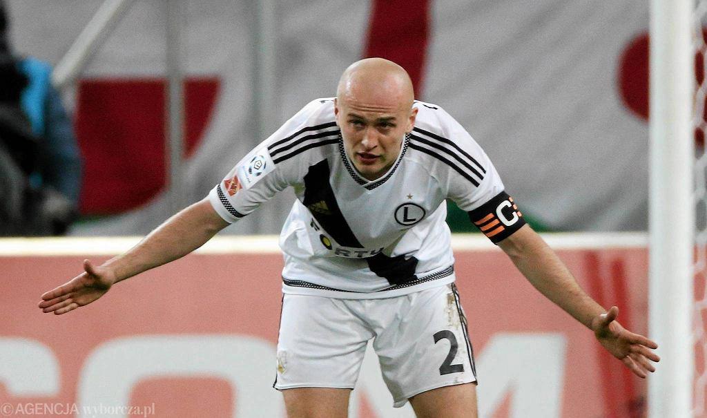 Legia - Pogoń 1:0. Michał Pazdan